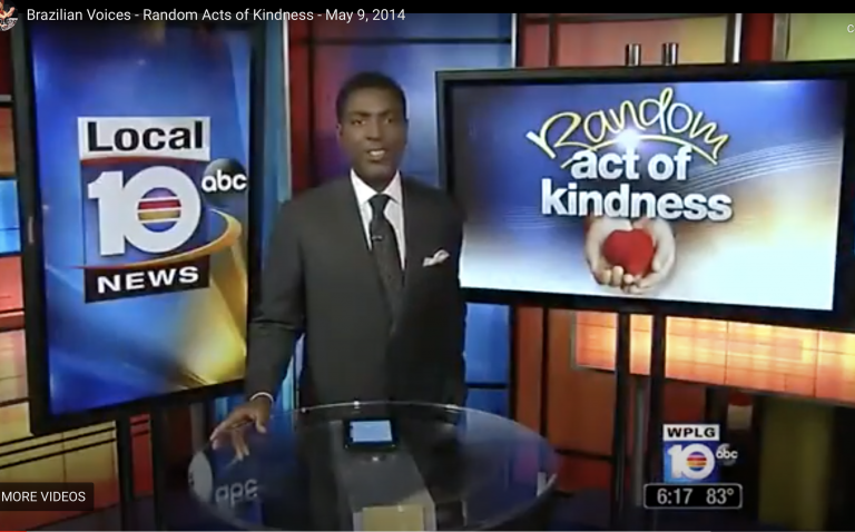 Read more about the article WPLG – ABC Channel 10 – Random Acts of Kindness