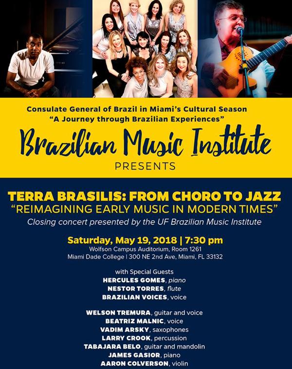 Terra Brasilis: From Choro to Jazz